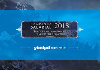 1ª rodada de negociação da Campanha Salarial 2018 acontece dia 10
