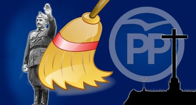 El PP se opone a sacar al dictador Franco del Valle de los Caídos