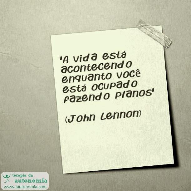 John Lennon - A vida está acontecendo enquanto