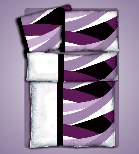 Ložní prádlo Jannis - bavlněný Jersey - 100% čistá bavlna - oboulícní úplet 140g/m2