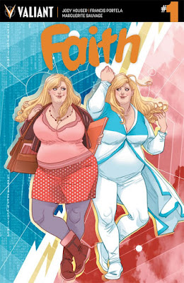 Faith, la primera superheroína talla XL de Valiant Comics que podría llegar a la gran pantalla