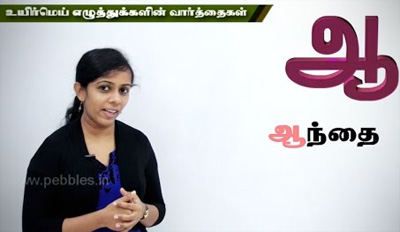 Learn Tamil (PART – 02)- Pre School Education – Adipadai Tamil – Educational Videos for Kids