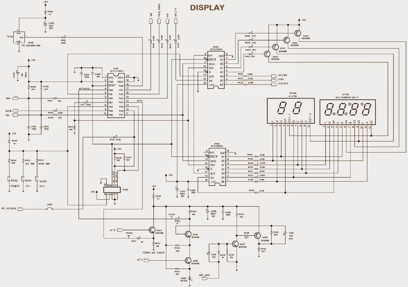 ELSYS  SETTOP BOX  SCHEMATIC (Circuit Diagram