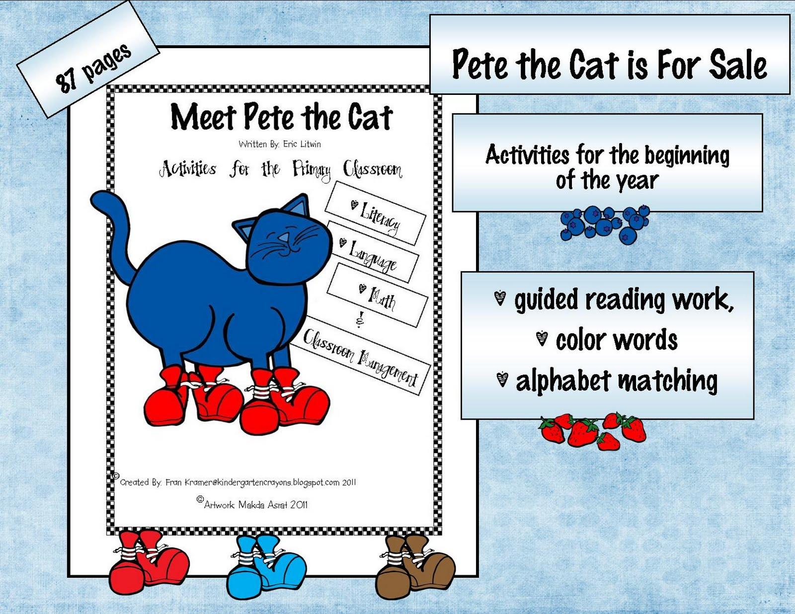 Kindergarten Crayons Who Wants To Buy A Cat