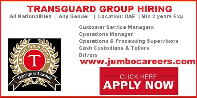 Operations manager vacancies in UAE