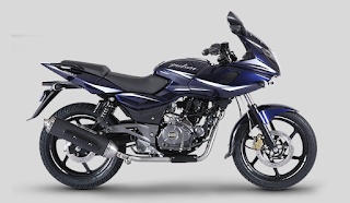 Bajaj Pulsar 220 Nuclear Blue Color