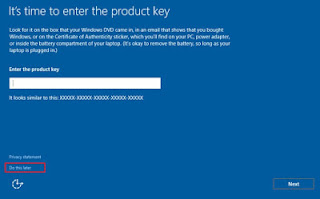 setting serial number windows 10
