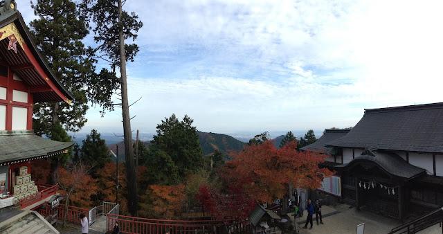 Mount Mitake red leaves