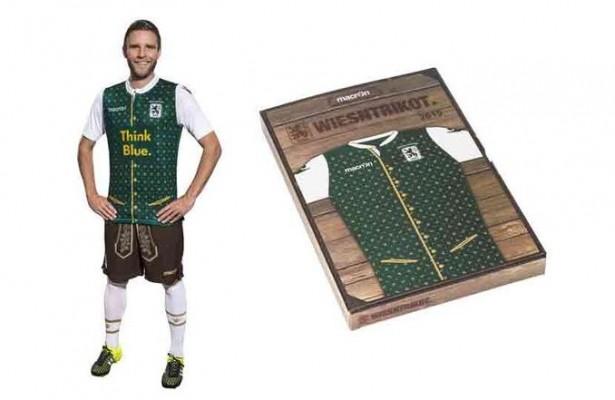 El Munich 1860 promocionará el Oktoberfest en su uniforme