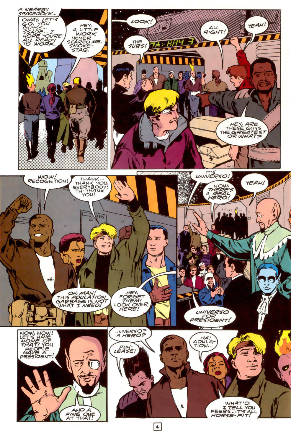 Legion of Super-Heroes (1989) 40 Page 4