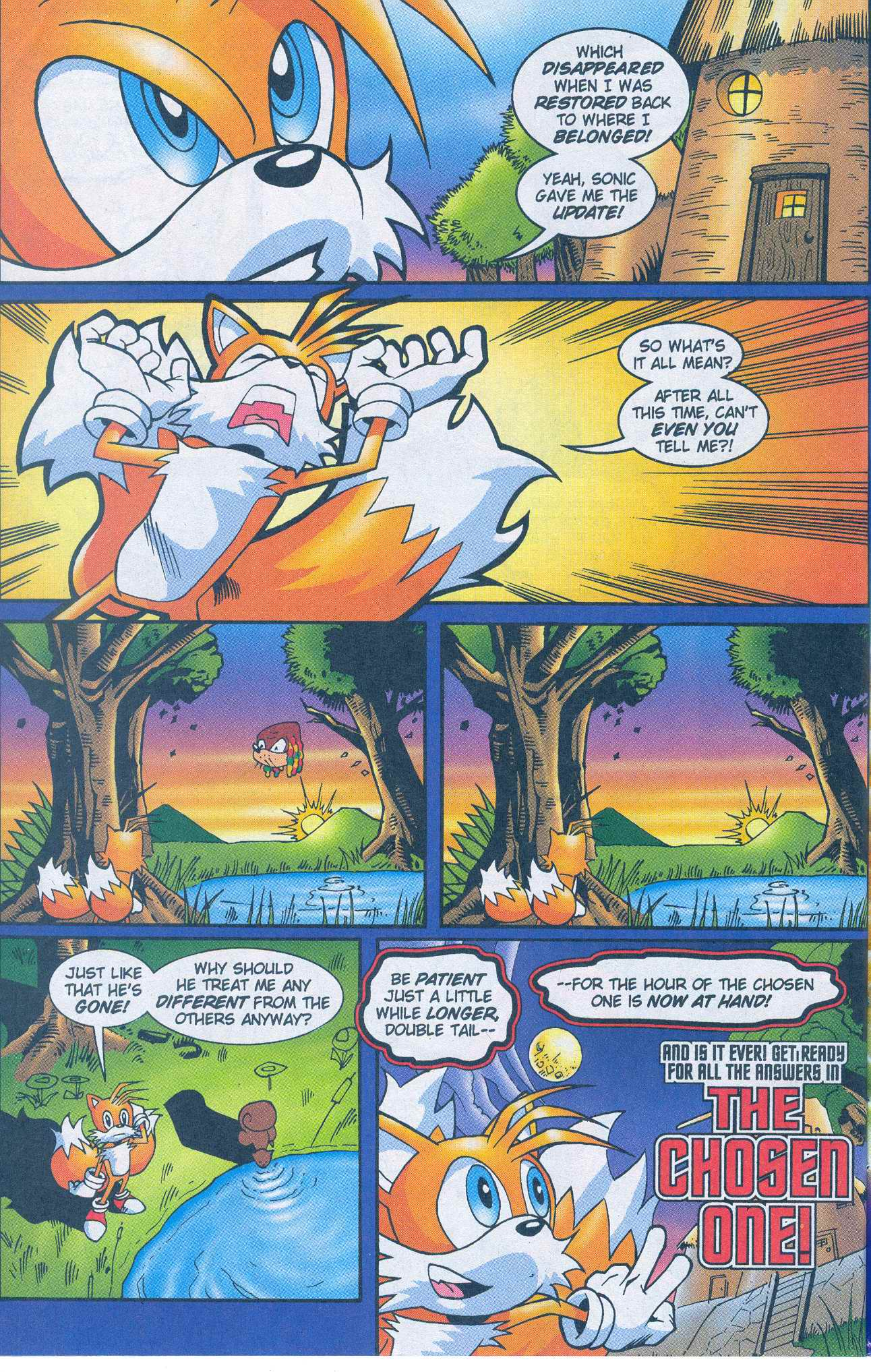 Read online Sonic The Hedgehog comic -  Issue #148 - 24
