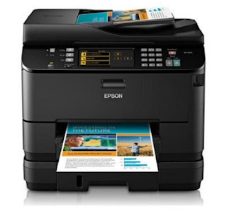 is double the speed of focused inkjets together with gives you lot the World Epson WorkForce Pro WP-4540 Drivers Download