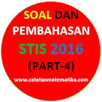Soal dan Pembahasan STI 2016