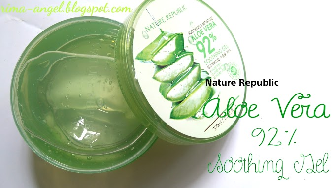 Berbagai Kegunaan dari Nature Republic Aloe Vera 92% Soothing Gel
