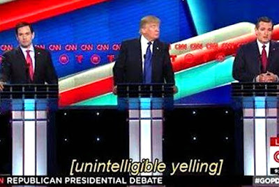 political yelling