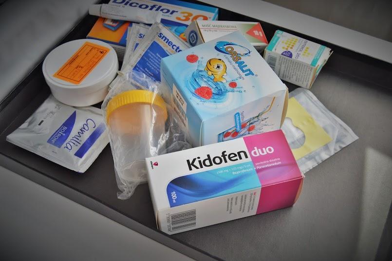 Domowa apteczka dziecka. Jakie leki trzeba mieć w domu?