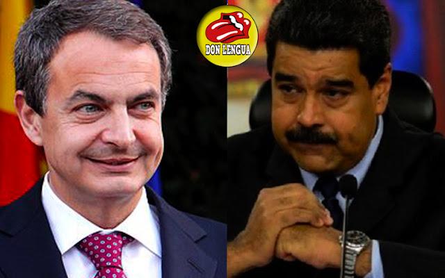 Zapatero amenazó a la Unión Europea por imponerle sanciones a Maduro