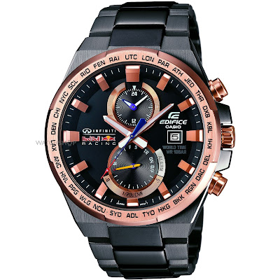 Casio Edifice Redbull Racing Watch worth ($400) or (Rs.24,000): eAskme