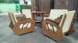 Dijual Kursi antik Sedan papan angka 8 keberuntungan