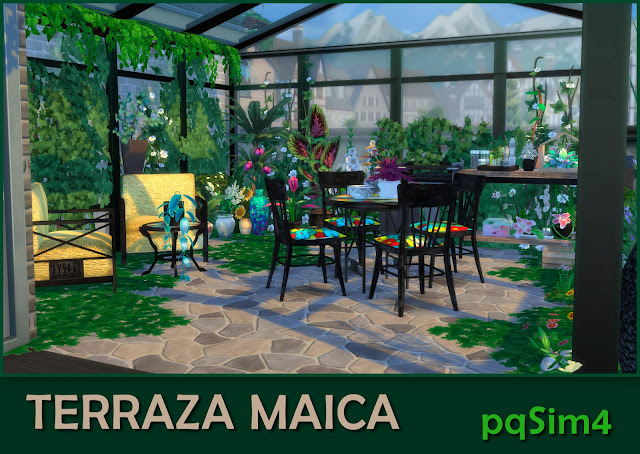 Terraza Maica Detalle 2