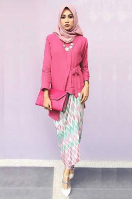 tutorial hijab kebaya zaskia mecca tutorial hijab untuk kebaya zoya  hijab kebaya 2017
