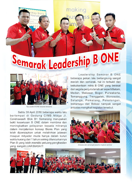Semarak Leadership B-One System BOS Community