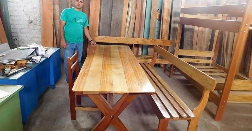 Fabrican carpetas con madera incautada para colegios de San Martín, informó la Unidad de Gestión Forestal y Fauna de Moyobamba - ARA