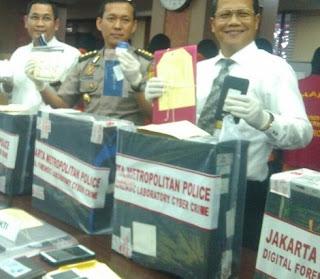 Polisi Tangkap Pencuri Bandwidth yang Rugikan Telkom Rp 15 M