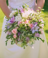 Mixed wedding bouquet Suffolk