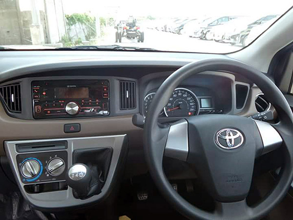 Head Unit dan Kabin Toyota All New Calya