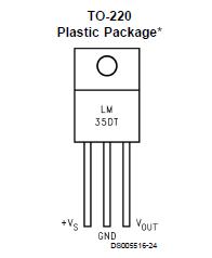 LM35 sensor de temperatura.