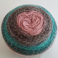 Ovillo de lana Silver Paint