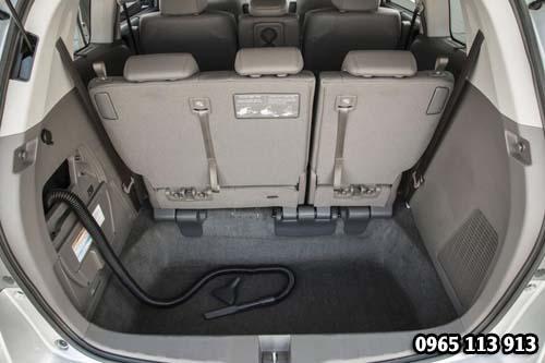 Khoang hành ly Honda Odyssey 2016