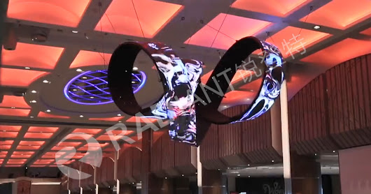 P6mm Flexible LED Video Display Screen