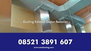 Ducting Restoran Dapur Exhaust Hood Kitchen