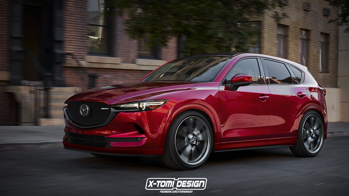 all-new mazda cx-5 looks delicious in mps attire