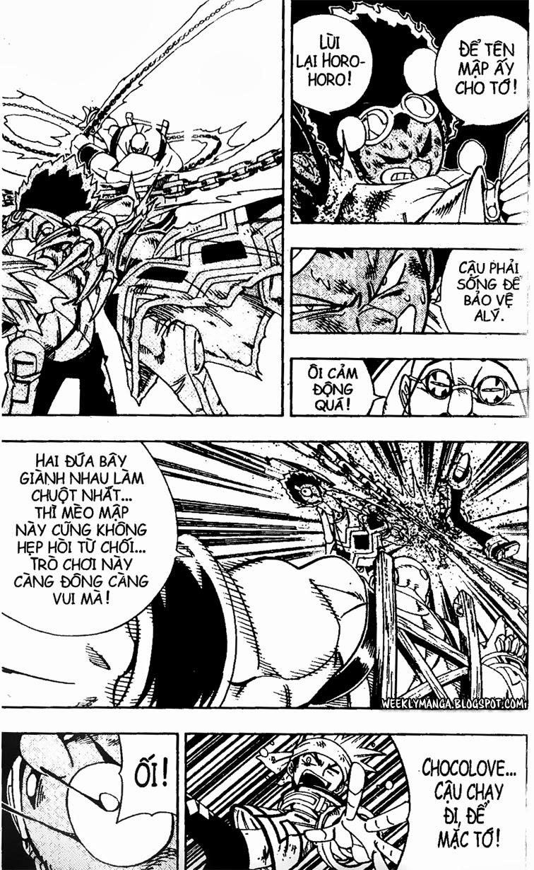Shaman King [Vua pháp thuật] chap 152 trang 10