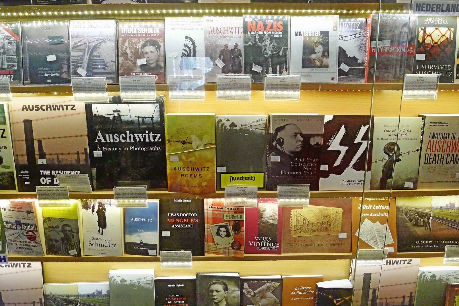 Books on Auschwitz