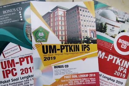LENGKAP Download SOAL UM PTKIN PDF 2019 Plus Pembahasan