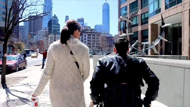Ruas para deficientes físicos em Nova York
