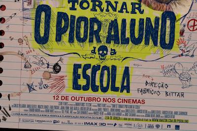 Cartaz de divulgação do filme.