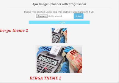 Cara Membuat Upload Crop Image dengan Scripts PHP Ajax  versi Berga Theme 2