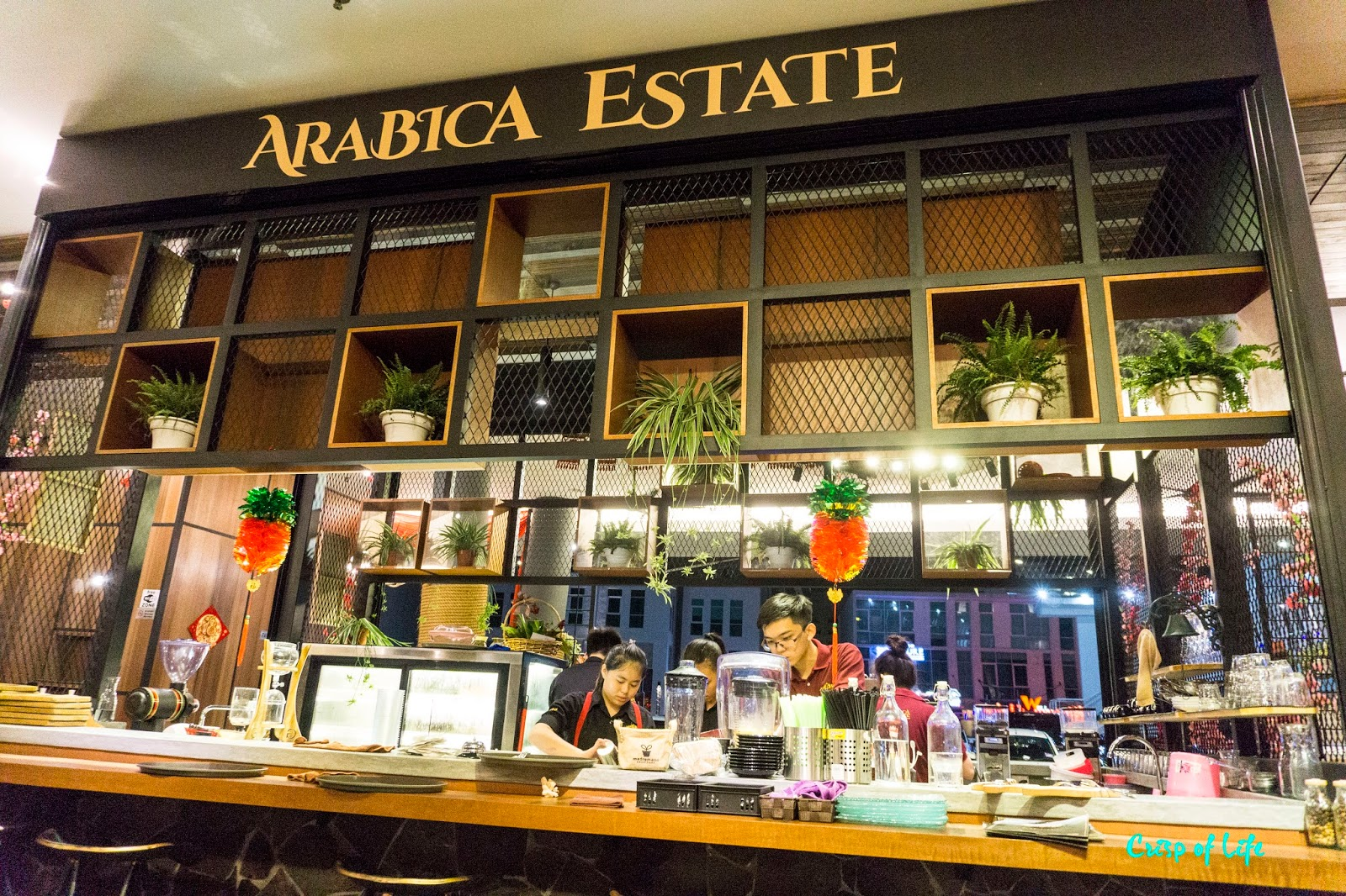 Arabica Estate Cafe Coffee Persiaran Karpal Singh Penang