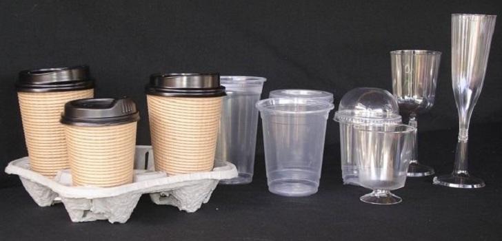 紙杯與塑膠隱含不同使用者腳本