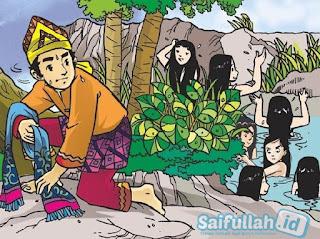 Legenda Jaka Tarub dan Tujuh Bidadari - Cerita Rakyat Jawa Tengah