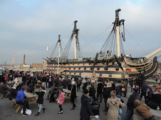 portsmouth victorian festival of christmas historic dockyard