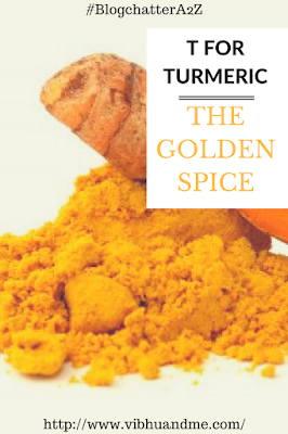 T For Turmeric - Vibhu & Me