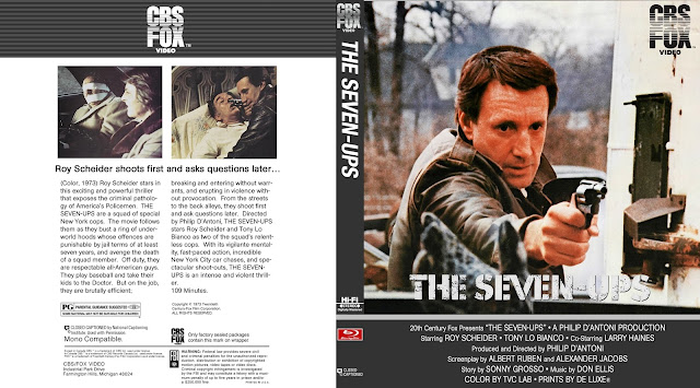 The Seven-Ups (1973) Bluray Cover
