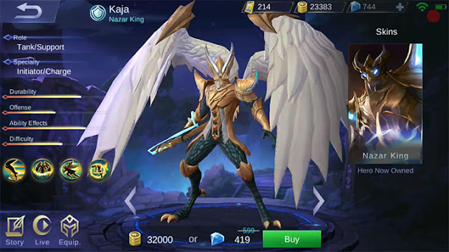 New Hero Kaja