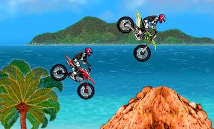 لعبة سباق موتسكلات الحركات الخطرة Motocross dangerous اون لاين